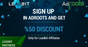 Adroots bonus for Leadbit affiliates