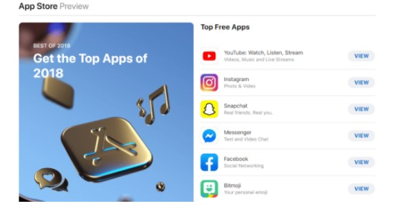 App Store Top Free Apps