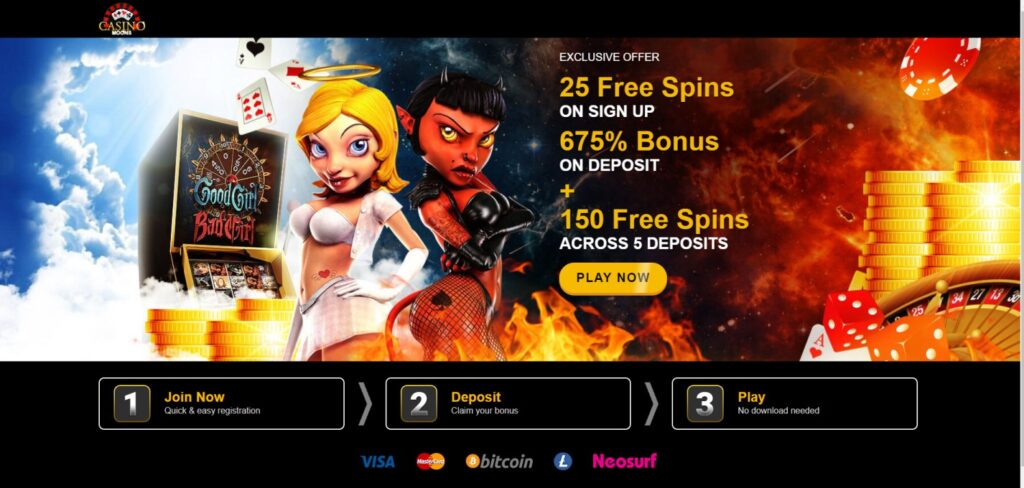 Casino Moons affiliate program landing page