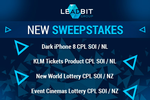 Hot sweepstakes campaigns