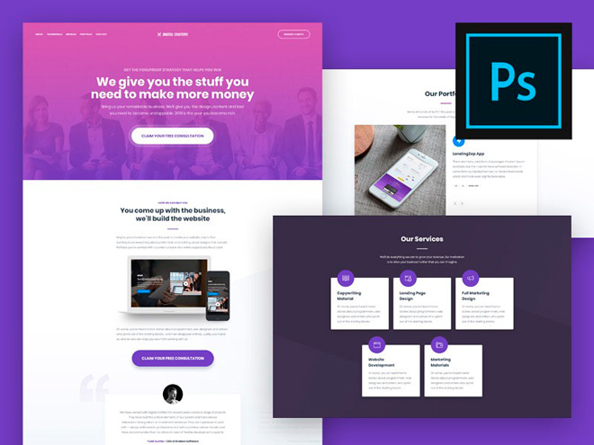 Tools from Adobe will help you create cool landing pages