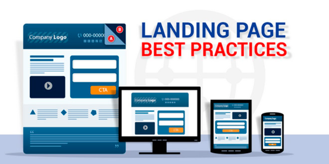 A good landing page has a device-adaptable design and loads in 1-2 seconds