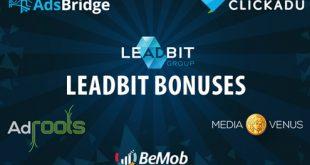 Leadbit bonus page