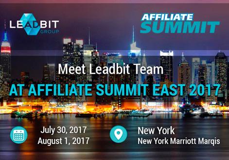 Leadbit team at Affiliate Summit East