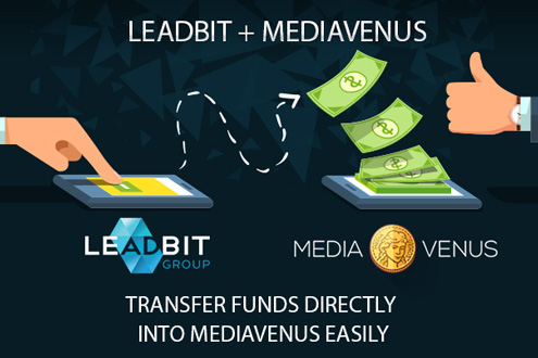 Leadbit ad.account in mediavenus system