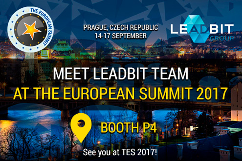 Meet Leadbit Team at The European Summit 2017