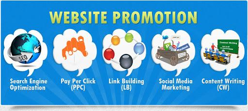 The main ways to promote your site