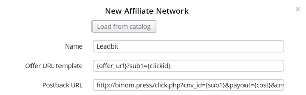 Choose an affiliate network-2