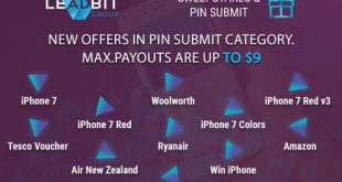 New pin-submit campains