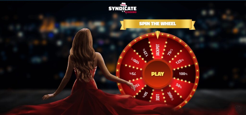 Syndicate Casino offer landing page