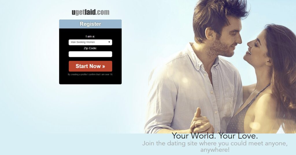 Ugetlaid offer home page